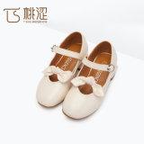 Principessa Shoes delle ragazze del tallone del quadrato della cinghia dell'inarcamento dell'arco di modo dei bambini