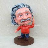 A resina Bobble Head Estátua de Artesanato