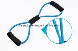 Figura 8 fascia ultra Premium per l'allenamento di forma fisica di yoga - azzurro di esercitazione di resistenza del toner
