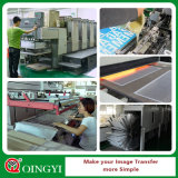Etiqueta engomada al por mayor del traspaso térmico del precio de Qingyi buena para la ropa
