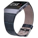 Cinturino ionico del cuoio genuino di Fitbit di alta qualità con l'adattatore