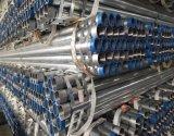 ASTM A53/BS1387 paste en koppelde de Hete Ondergedompelde Gegalvaniseerde Pijp van het Staal in (gi-61)