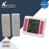 Drahtloser Digital-Kühlraum-Thermometer mit Fühler für Küche oder Supermarkt