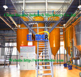 디젤 엔진 증류법 정제 공장에 소형 조잡한 열분해 기름