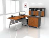 Modern Houten Kantoormeubilair Directeur Table Executive Desk met ZijKabinet