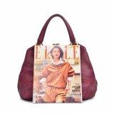 Handbag広州の工場方法女性高品質PUの革ハンドバッグ