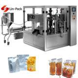 Завалка сока Wenzhou жидкостная и машина запечатывания упаковывая