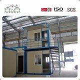 Casa prefabricada moderna flexible de la cabina del envase de la estructura de acero en Nepal