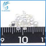 백색 2.0mm 보석을%s 소형 치고 받기 Moissanite 다이아몬드의 가까이에 둥근 화려한 커트 Gh 색깔