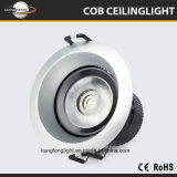 La nueva venta caliente de China a presión la MAZORCA Downlight 5With7W de la fundición LED