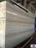 Mármore/granito de madeira de cristal brancos Polished naturais