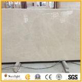 Mármol de piedra amarillento blanco de calidad superior de Aran para los azulejos, encimeras