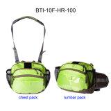 10f-Hr-100 2 в 1 Fly промысел подушки безопасности для защиты грудной клетки для хранения Pack планку поясничного подпора