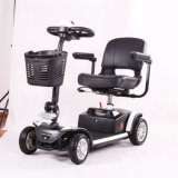 Un motorino Handicapped elettrico piegante dei 4 della rotella motorini di mobilità per gli anziani