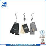 Design personalizado String Impermeável Hang Tag para roupa