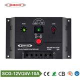 12V 24V 10A Prix de ce contrôleur de charge solaire PWM intelligent avec USB
