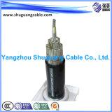 Кабель XLPE обшитый Insulated/PVC минируя