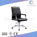 Forniture di ufficio lombo-sacrali della presidenza dell'ufficio del cuoio del nero della parte girevole di alta qualità (CAS-EC1814)