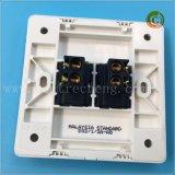 Spina elettronica della spina 2 del gruppo 2 della spina di plastica sottile di modo (Guangdong)