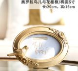 Well-Sold Polyresin Gift and Home Decoration Photo Frame Picture Frame