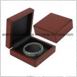 Module en bois de luxe de cadeau de cadre de bijou de qualité