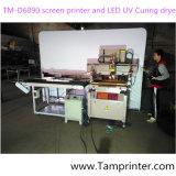 TM-D6090 Precisão eléctrico da máquina de impressão de ecrã plano vertical para plástico