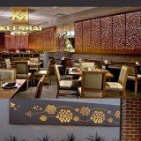 装飾的な金属のレストラン部屋ディバイダスクリーンの区分