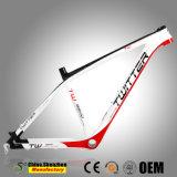 15,5 дюйма до 17,5 дюйма MTB 27.5er углерода T1000 Mountian велосипедной рамы