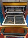 Machine de conditionnement modifiée par vide de l'atmosphère de nourriture pour la cuvette et le plateau en plastique