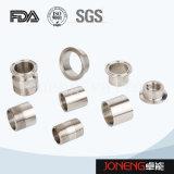 Aço inoxidável 3A/SMS/DIN a Braçadeira da extremidade sanitárias (JO-FL1002)