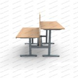 Autormatic 모듈 지적인 고도 조정가능한 상승 컴퓨터 책상 테이블