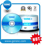 Prix bon marché DVD DVDR blanc de promotion avec l'enveloppe Pacakge de Shink