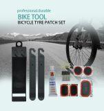 Multifunción portátil bicicleta Ciclismo Bicicleta herramienta Parche frío Kit de reparación de neumáticos