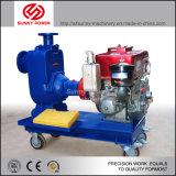Nuevo diseño de alta Effiency refrigerado por aire 5CV del motor Diesel Bomba de agua