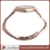 女性の水晶腕時計、ダイヤモンドのステンレス鋼の腕時計、防水鋼鉄腕時計