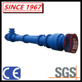 Pompa centrifuga sommersa asta cilindrica lunga verticale dei residui delle acque luride del pozzo del pozzetto