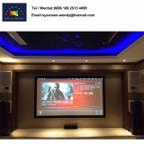 300 Zoll-örtlich festgelegter Rahmen-Projektor-Bildschirm mit HD Fiberglas-Film für Innen