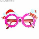 Gafas de Navidad de PVC atractivo marco para la presentación