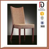 Neuer heißer Indien-antiker Streifenleiter Gewebe-Esszimmer-Stuhl hergestellt in China