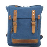 Fournisseuse de Canvas Shoulder Backpack Bag Chine de mode de Madame (RS-1027B)