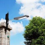 15W indicatore luminoso di via solare del giardino di obbligazione esterna solare della lampada del sensore di movimento del radar da 2100 lumen