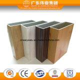 Certificazione di alluminio della BV della finestra della stoffa per tendine di colore di legno