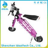 一義的なデザイン25km/H 10インチの移動性によって折られる電気スクーター