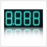 Benzinestation Gebruikt LED-cijferig nummer Sign