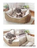 مرجان شتاء ليّنة دافئ كلب وسادة احتشد مربع محبوب أسرّة