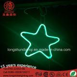 LEDのクリスマスの装飾のためのアクリルIP65ハングの星の装飾的で軽いネオンサイン
