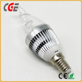 LED 점화 RoHS 승인되는 높은 CRI 새로운 디자인 4W LED 초 전구 LED 램프