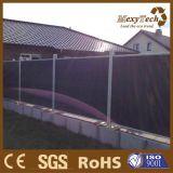 La meilleure clôture composée de vente d'intimité du matériau de construction WPC
