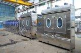 El hombro sujeta con cinta adhesiva la máquina de Dyeing&Finishing con el compartimiento del vapor de los 60m