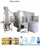 Автоматический выпивая завод упаковывая оборудования минеральной вода разливая по бутылкам для бутылки любимчика
